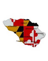 Howard County - Maryland Flag
